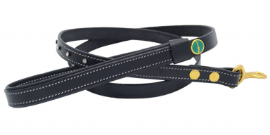 STAR Genuine Leather Lead Black